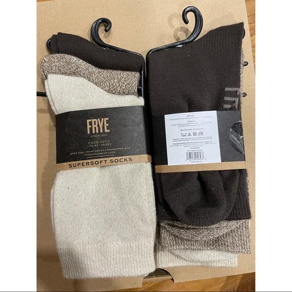 Frye crew socks